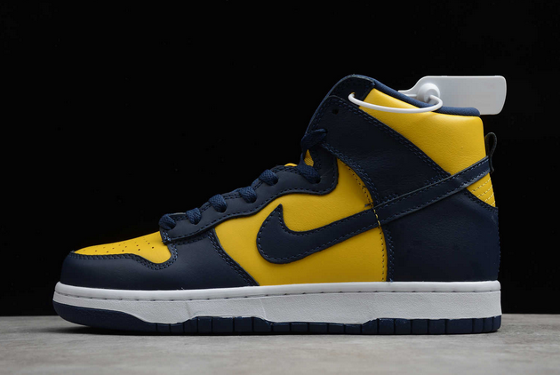 """Nike Dunk High SP """"Michigan"""" Varsity Maize/Midnight Navy 2020 New Released CZ8149-700"""