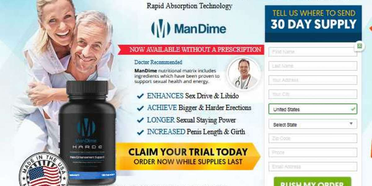 ManDime HARDE Male Enhancement Supplement