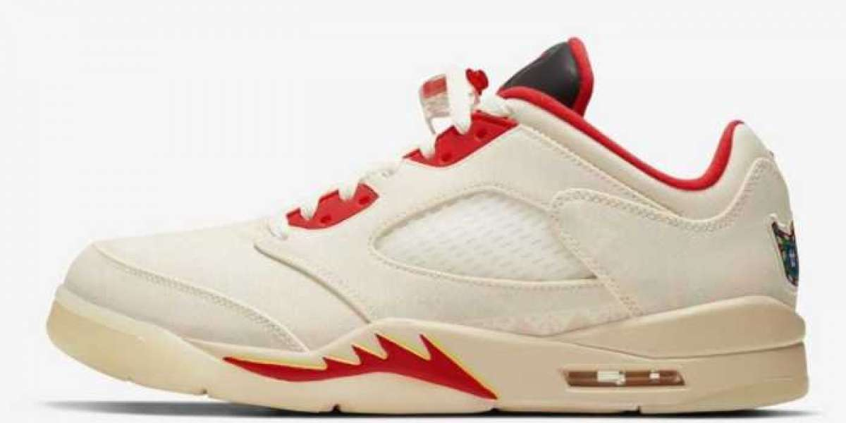 2021 Chinese New Year Air Jordan 5 Low DD2240-100