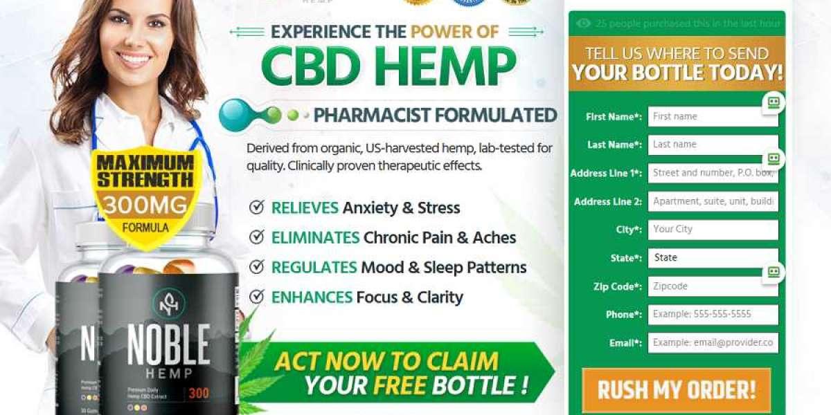 Noble Hemp Gummie Reviews– Hemp Oil To Support Natural Health!