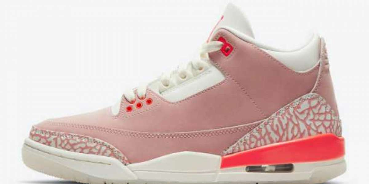 WMNS Air Jordan 3 Rust Pink CK9246-600 to release on April 15th