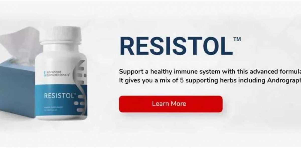 Resistol Immune Boosting Formula Supplement with Elderberry, Vitamin C, Echinacea & Zinc - Once Daily Multi-System I