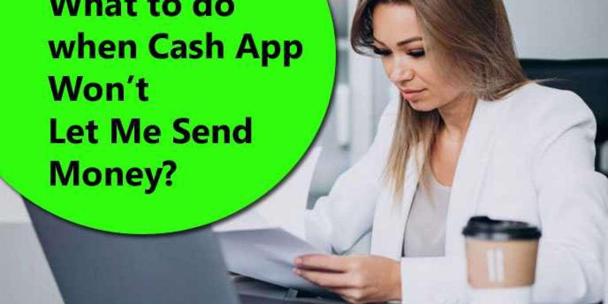 Why Cash app won't let me send money on flips fake?