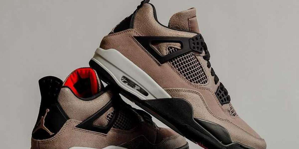 "DB0732-200 Air Jordan 4 ""Taupe Haze"" will be officially released at 9 am on February 27th"