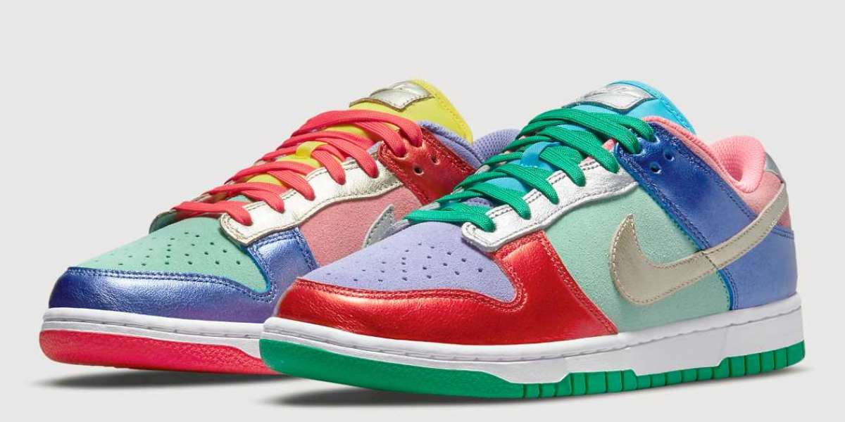 """Official image of Nike Dunk Low """"Sunset Pulse"""" DN0855-600"""