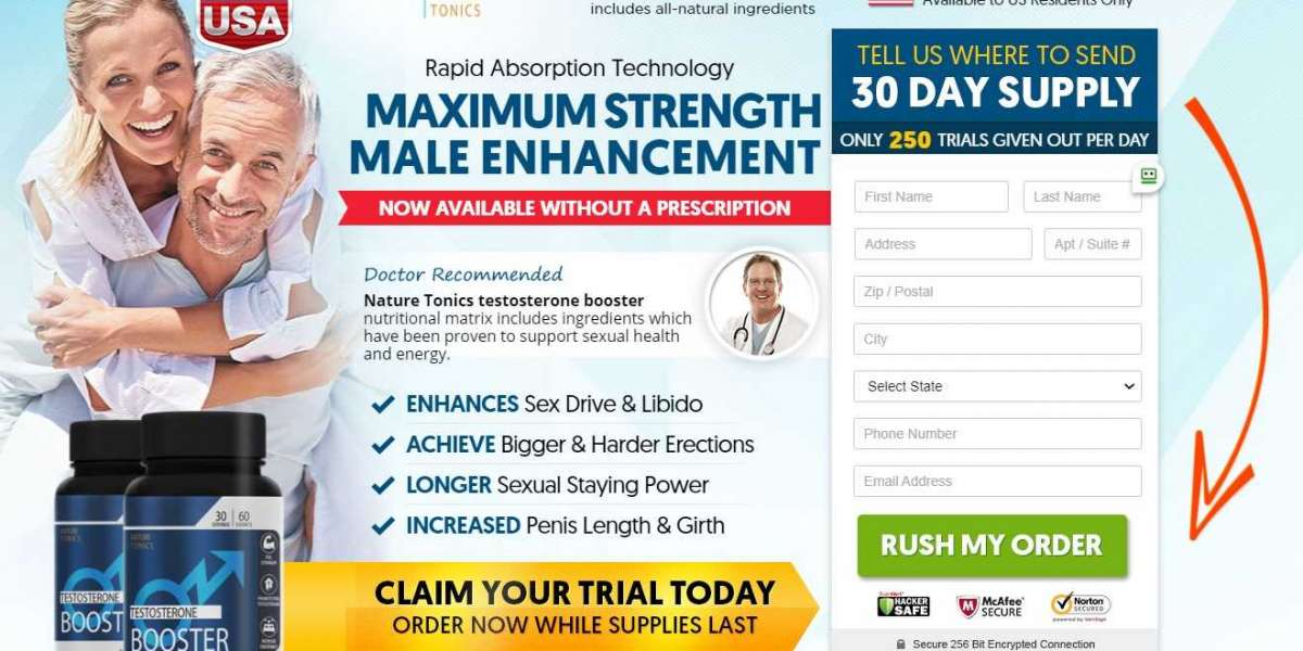Nature Tonics Testosterone Boosters   Nature Tonics Male Enhancement Reviews, Benefits, Side Effect & Work!